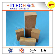 China supplier zibo hitech dead burned MgO magnesia refractory brick with good thermal shock resistance