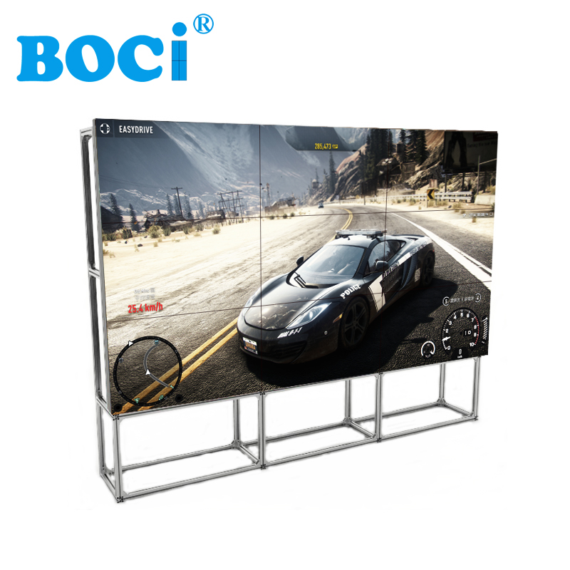 "55"" Ultra HD 4K 3D TV Video Wall With 3x3 LCD Video Wall"