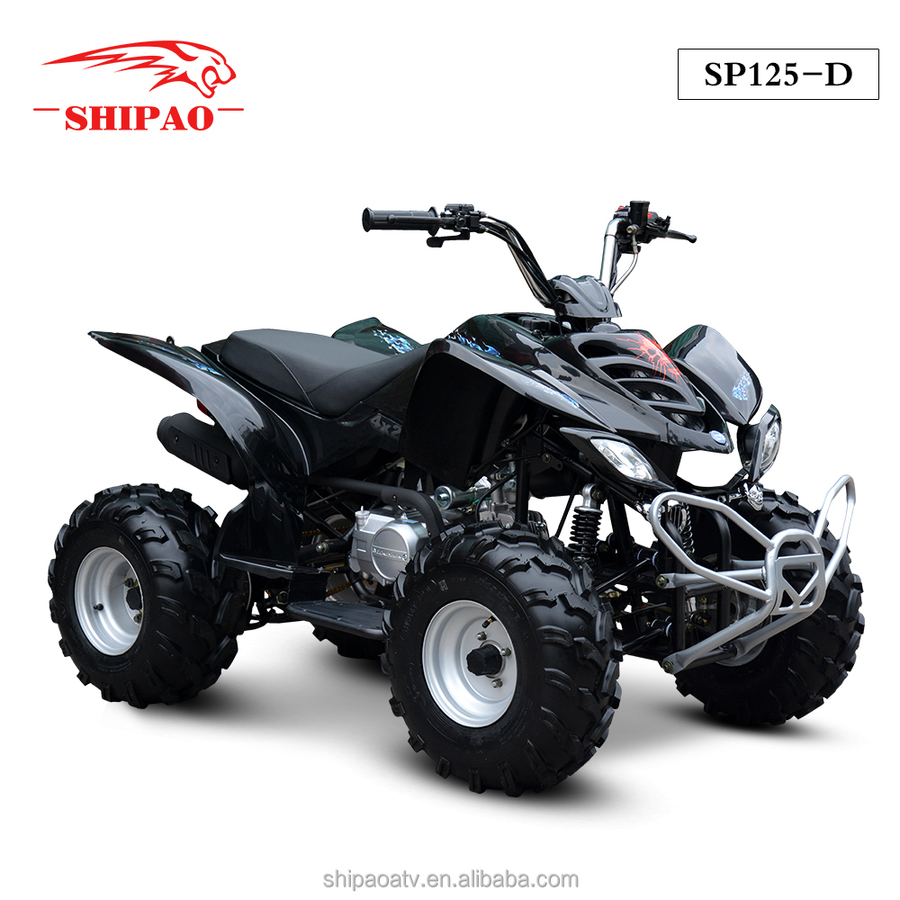 SP125-D 4 wheel cheap quad bike atv