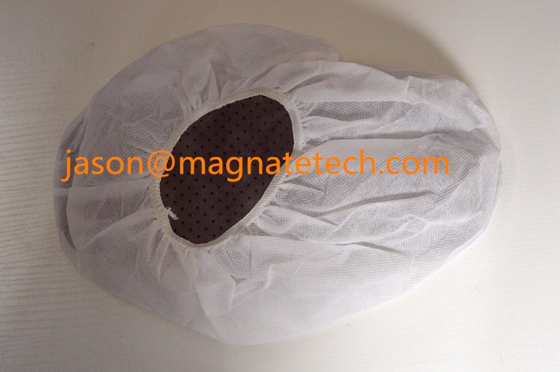 New design non-slip nonwoven shoe cover