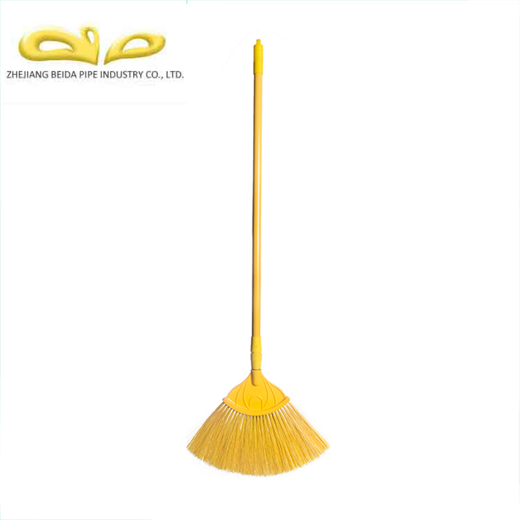 Yellow Ceiling Broom With Telescopic Handle