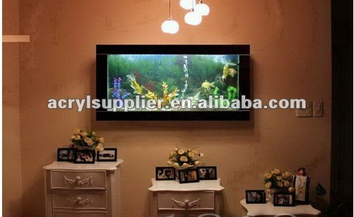 Wall mounted acylic aquarium/tank