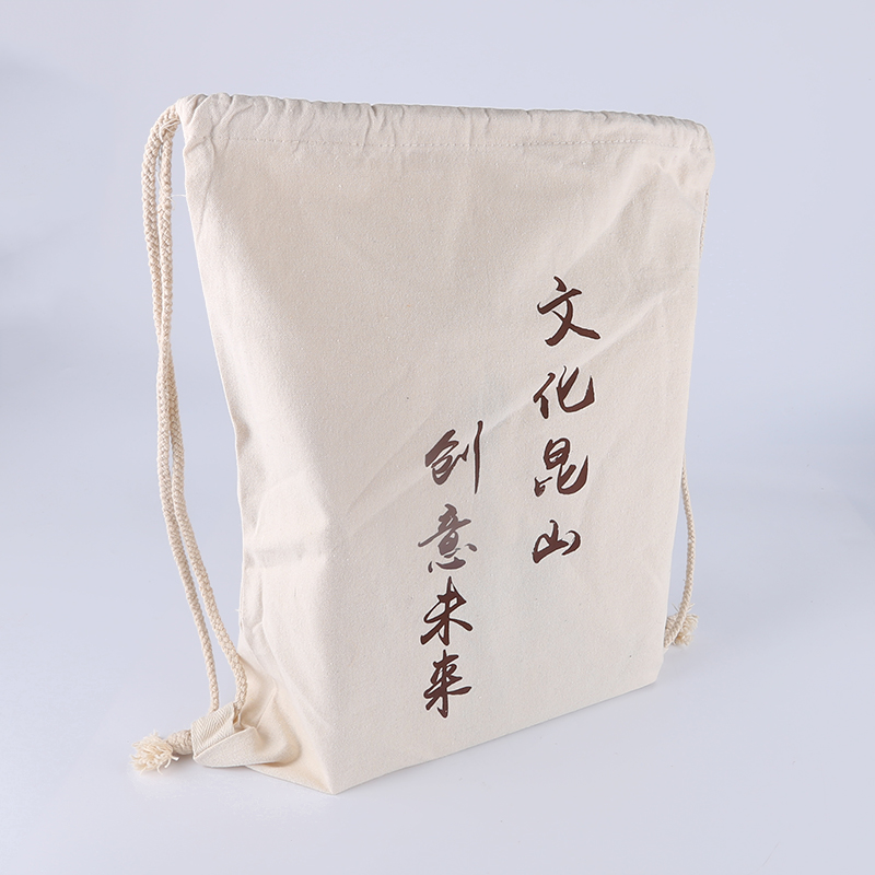 China Supplier cotton bags long handle for shopping food With Bottom Price