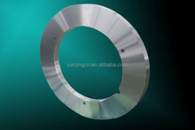Metal slitting blade for cutting stainless steel plate