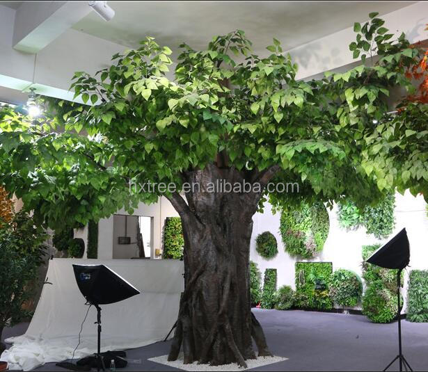 Artificial large tree plastic apple tree for indoor outdoor Decoration tree