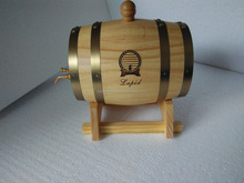 Top quality cheap pine wood whiskey barrels for sale