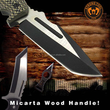 Strong Hunting Military Tactical Combat Survival Knife