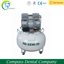 Foshan Compass dental air compressor cheap price , low noise oil free air compressor can 2 dental unit chairs on sale