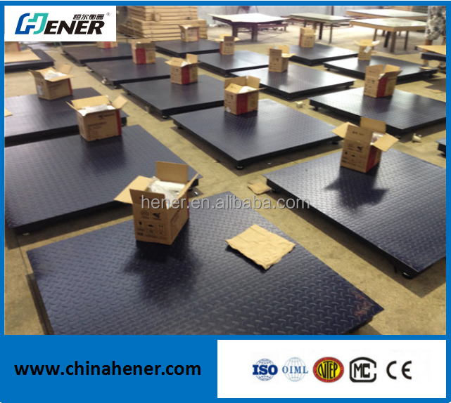 Pallet Floor weighing scale with printer