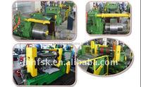 Automatic Rolling Shear Slitting Line Machine Zinc Plating Roll Sheet