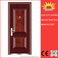 low price half lite steel entry door