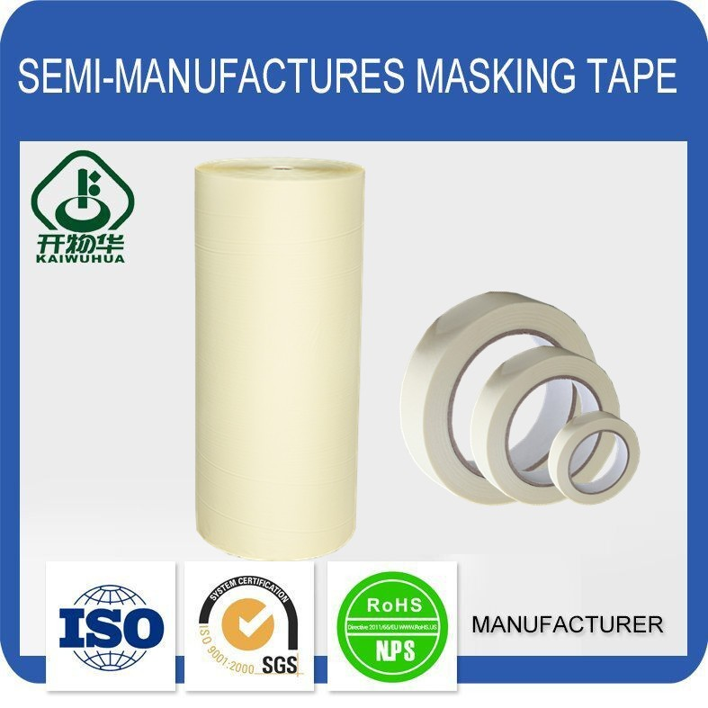 Free samples high quality self adhesive masking tape for painting stripes