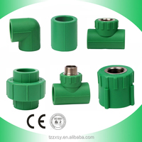 all types of ppr pipe fittings and ppr plumbing pipe