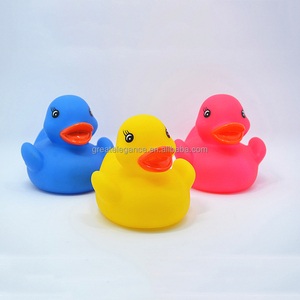 Wholesale Colorful Floating Squeaky Bath Rubber Duck