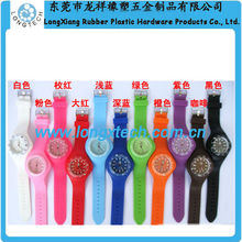 expedite silicon custom logo watch manufacturer