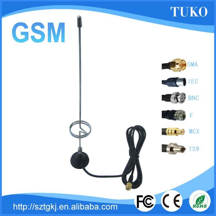 (Manufactory) High quality 3dbi Magnetic Mount magnetic gsm directional antenna