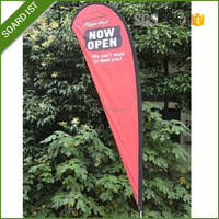outdoor polyester banner printing advertising board for shops flex banner roll