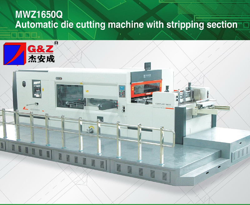 Automatic carton machine die cutter for paper,corrugated board cardboard with Stripping