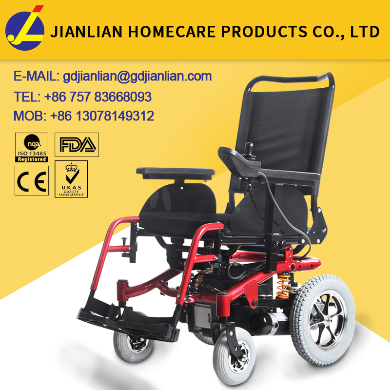 JL141 lightweight battery operated wheelchair
