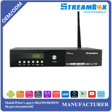 Power vu WiFi DVB-T2+S2-C PowerVU CCcam Biss Key Digital HD Combo Android Satellite TV Receiver