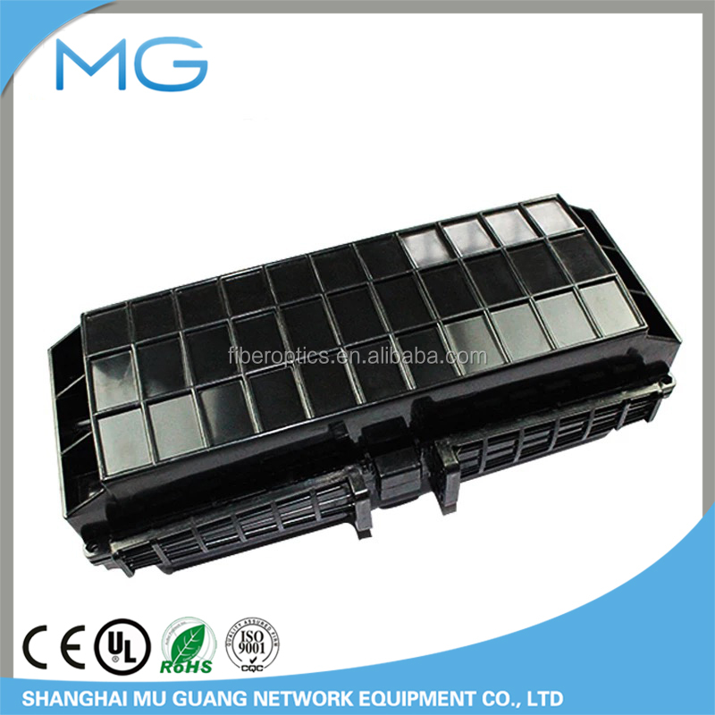 hot selling 288 cores, horizontal fiber optic splice closure, 3 inlets/outlets