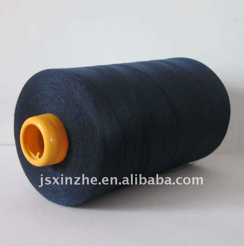 pure polyester sewing thread in china