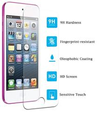Tempered glass screen protector for iphone touch 5 glass screen protector for ipod lcd tv screen protector