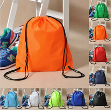 Custom promotional design your own drawstring backpack