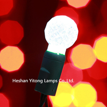 Best quality promotional waterproof G12 globe/Berry Christmas Led string lights 50L