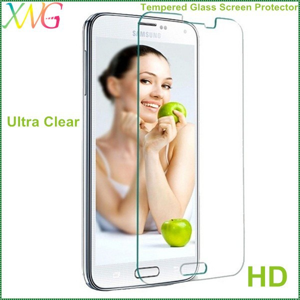 Factory wholesales price HD ultra clear 0.33mm desktop screen protector for samsung galaxy s5 tempered screen protection