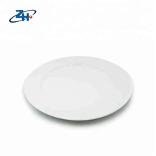 10.5inch full white ceramic round <strong>plate</strong> for dinner