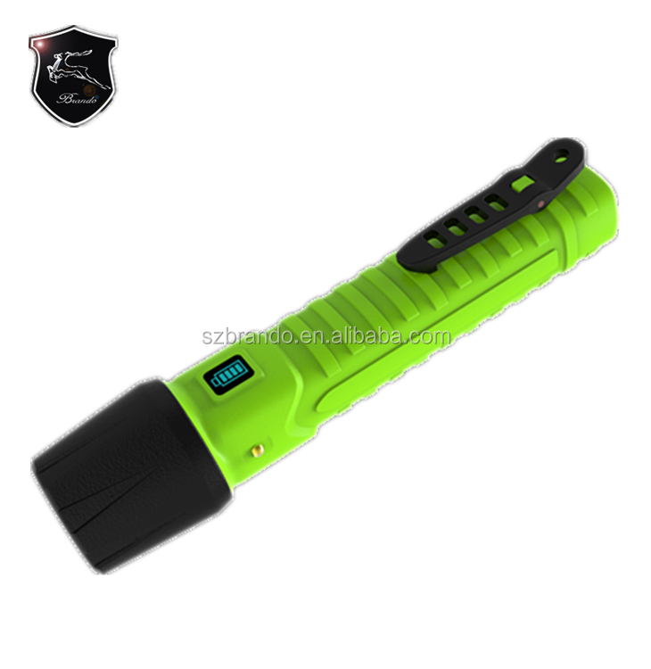 NEW Design LED Torch Light Rechargeable Battery with Single Charger