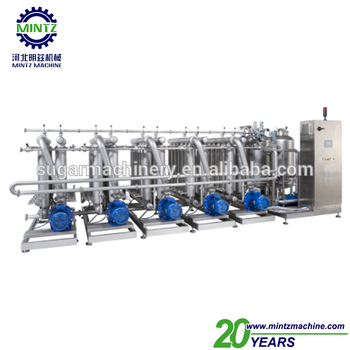small scale sugar beet processing equipment with membranes filtration