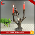 Christmas decoration deer head candle holder