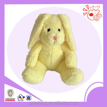 Plush rabbit toys ,stuffed sitting lovely colors rabbit toys