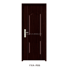 Classic Style Decoration Swing Interior Steel Door entry door safety steel door for nigeria (JH-006)