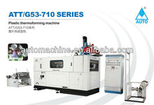 Thermoforming Plastic Container Making Machine