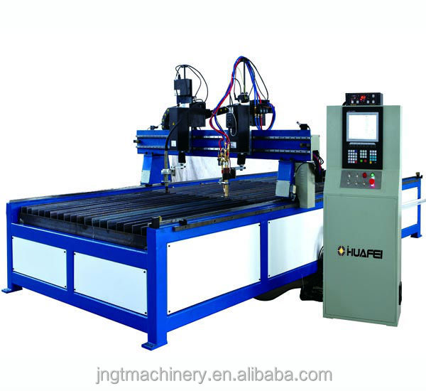 Hot sale Top quality metal tube profile cutting machine/plasma plate cutting machine/gantry cnc plasma cutter