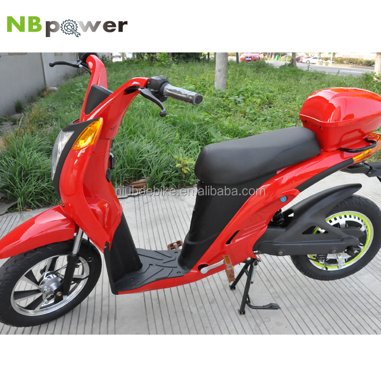 2016 factory price electric motorcycle / chinese moped scooter