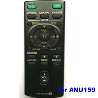 LCD/LED/HD/3D for ANU159 nobel tv remote control