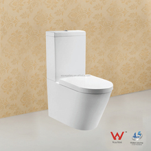 Two Piece Ceramic Toilet with Watermark Approval