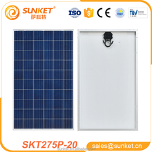low-cost Poly 275w pv module 1000 watt solar panel price india