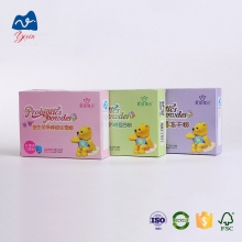 Different color and Logo printing white cardboard box milk powder