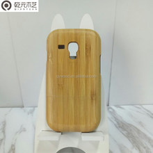 Yellow Bamboo Phone Wooden Cases Mobile Phone Cover For galaxy s3 mini