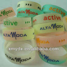 100% food grade silicone Eco-friendly/ Non-toxic cheap silicone kid wristbands