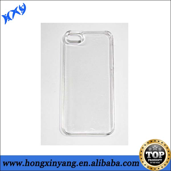 Cheep Transparent Plain Cell Phone Cases For iPhone 5 5s.
