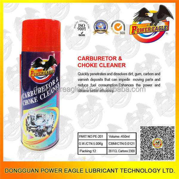 Cleaning Throttle Body Carb And Choke Cleaner PE