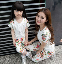 C24808A WHOLESALE SUMMER MOTHER AND BABY DAUGHTERS' CLOTHING