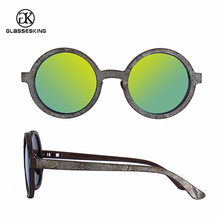 Design your own wooden sunglasses new model fashion eyewear stone wooden sun glasses