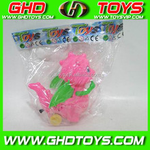 Candy Pull line dinosaur with light cheap small plastic candy sugar toys for sale for gift FOOD TEST